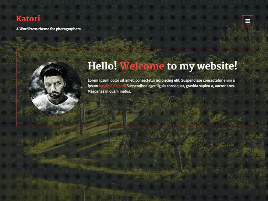 Katori free wordpress theme