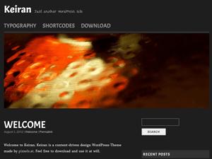 Keiran free wordpress theme