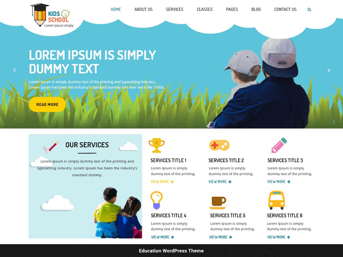 Kindergarten Education Wordpress Theme Wordpress Org