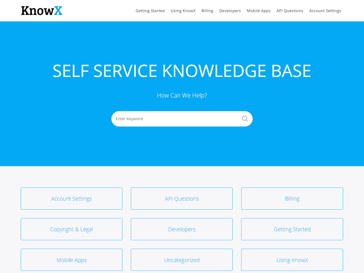 WordPress主题:KnowX