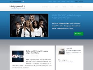 Kreativ wordpress theme