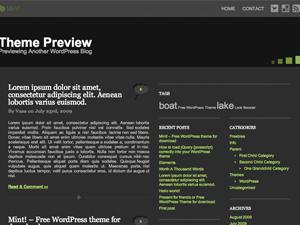 LB - Mint! free wordpress theme