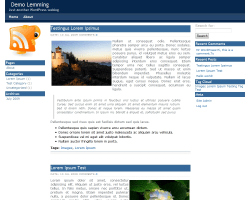 Lemming free wordpress theme
