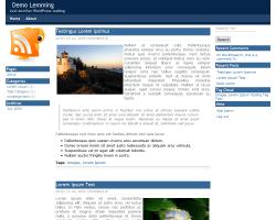 Lemming wordpress theme