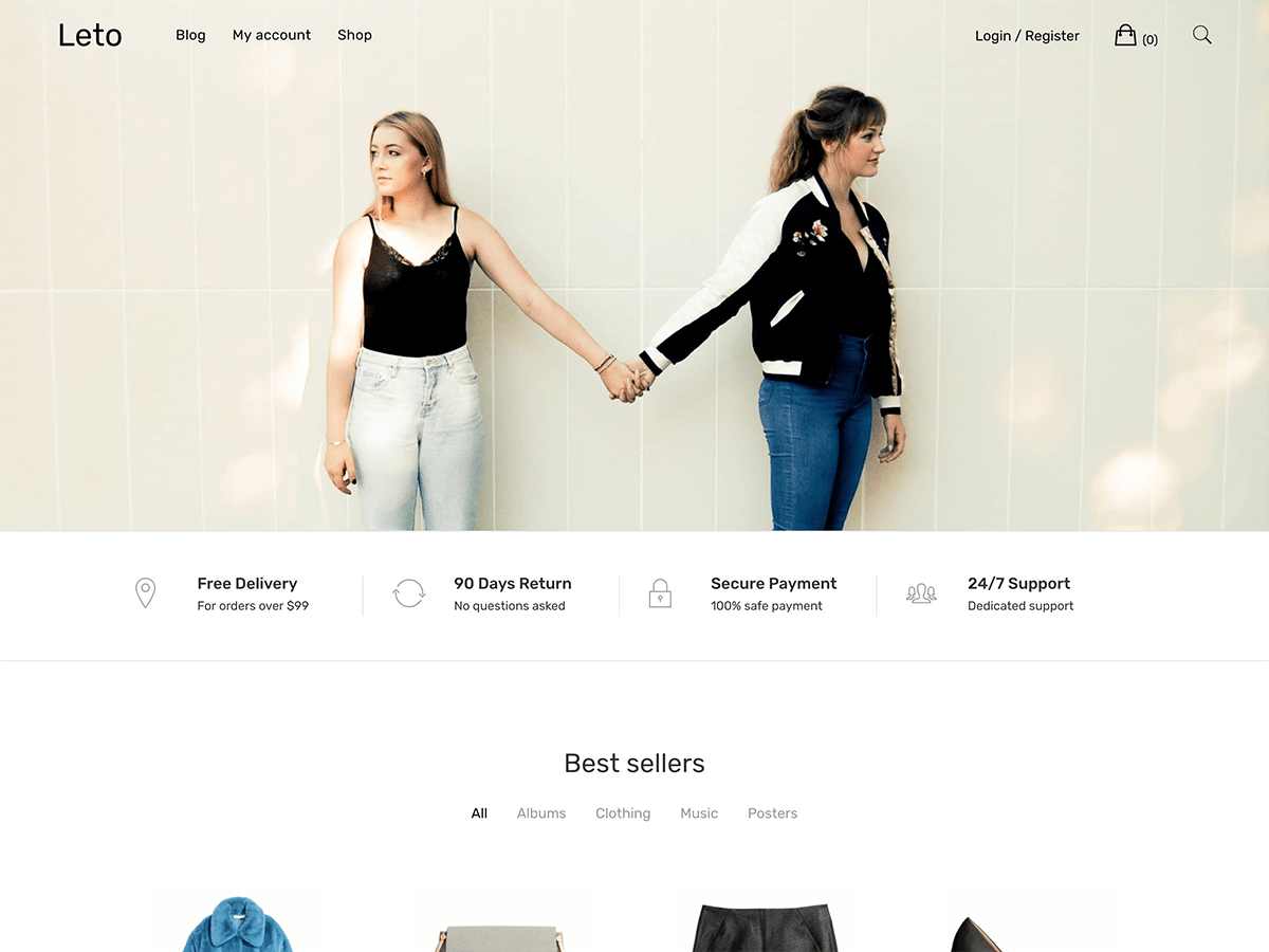 Cali WordPress Fashion Free Theme