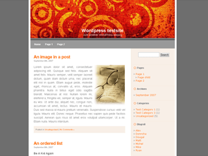 LiasOrangeC free wordpress theme