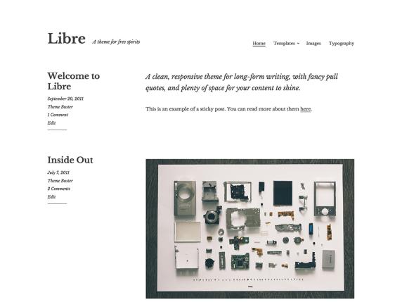 Libre | WordPress.org