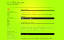 Lime Radiance