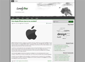 Lonelytree wordpress theme