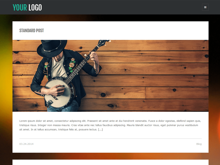 Looki Lite free wordpress theme