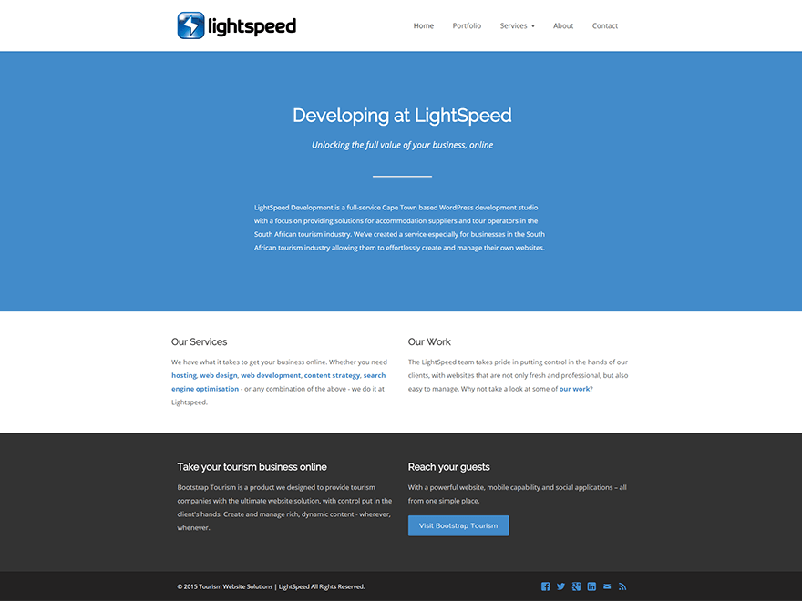 LSX free wordpress theme