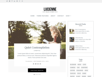 Lucienne child theme