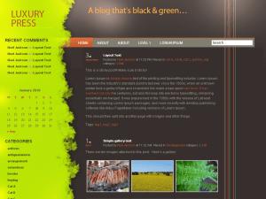 Luxury Press free wordpress theme