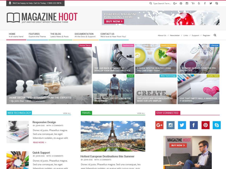 Magazine Hoot | WordPress.org