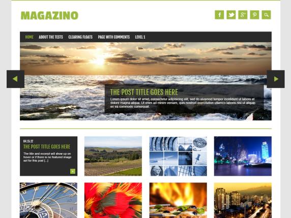 Magazino wordpress theme