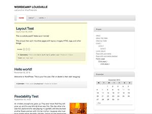 Magnolia free wordpress theme
