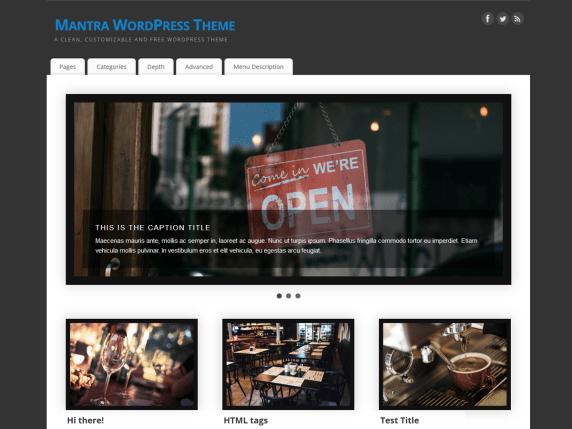 mantra   WordPress.org