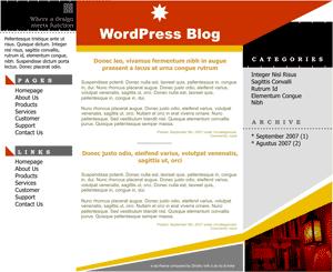 March Star free wordpress theme