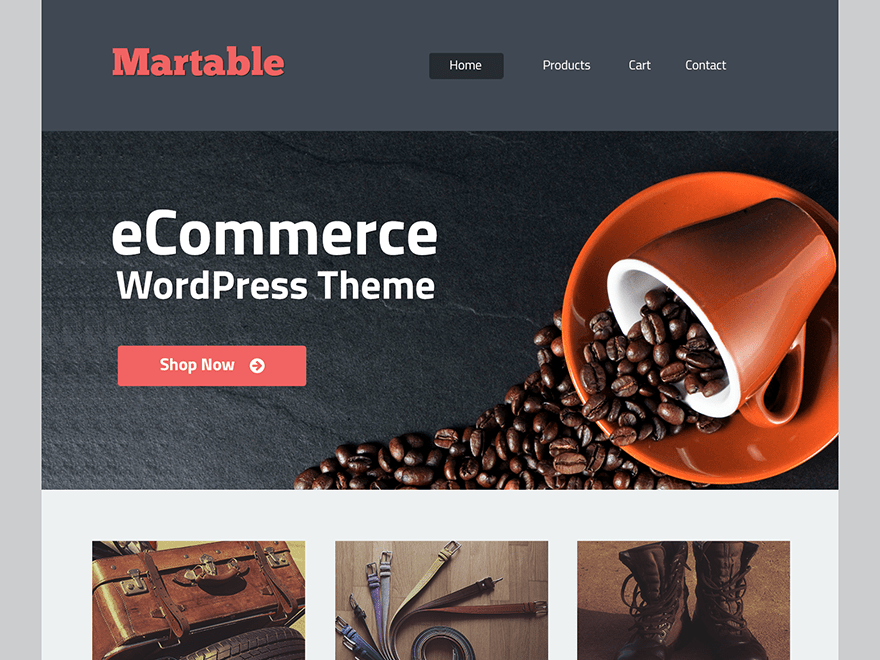 martable free wordpress theme