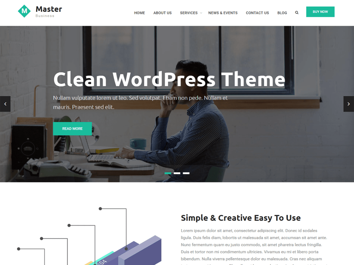 20+ Best Free WordPress Responsive Business Themes 2018