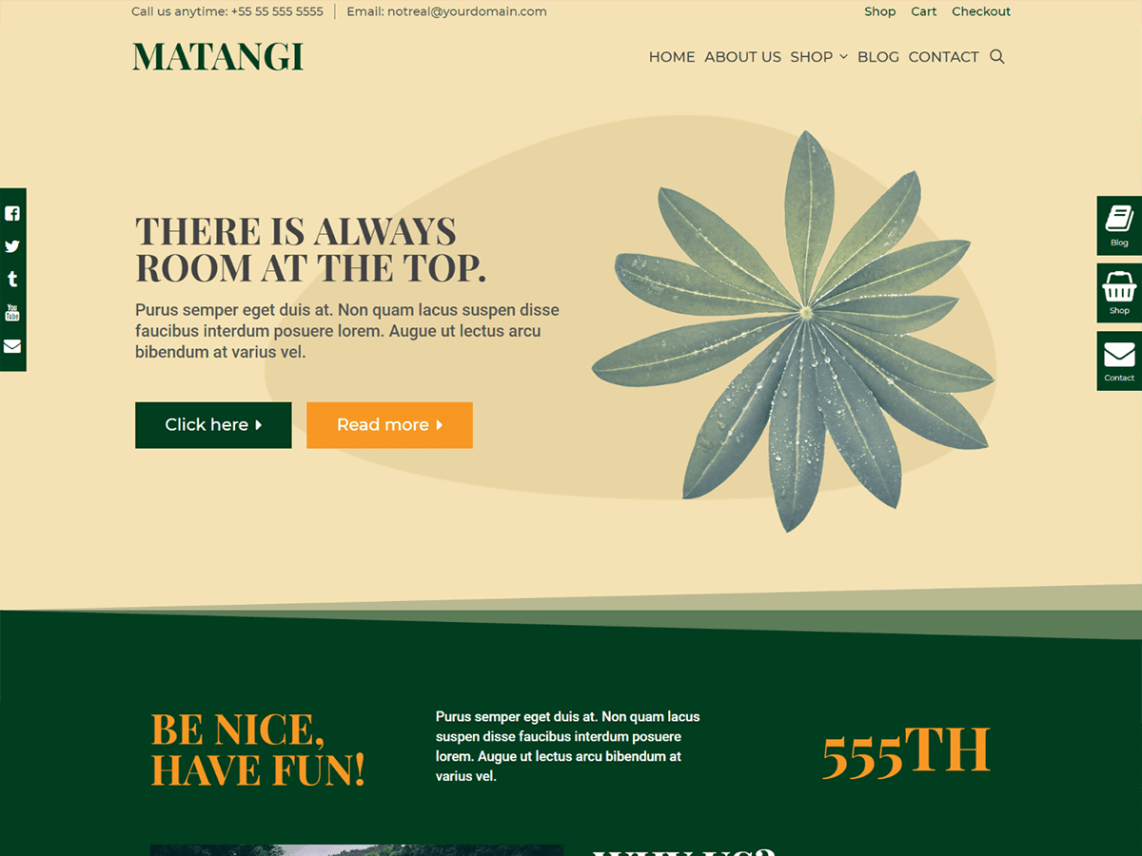 Matangi WordPress Theme Download