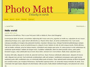Mazeld free wordpress theme