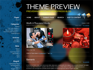 Möbius free wordpress theme