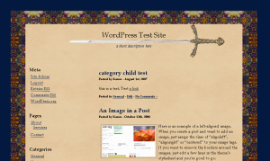 Medieval free wordpress theme