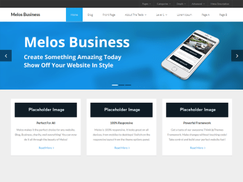 Melos Business child theme