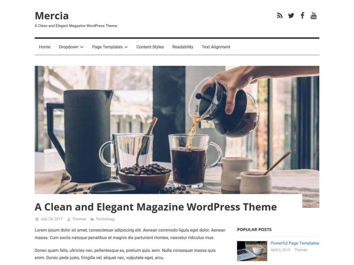 Mercia Wordpress Org
