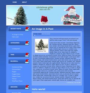 Merry Christmas free wordpress theme
