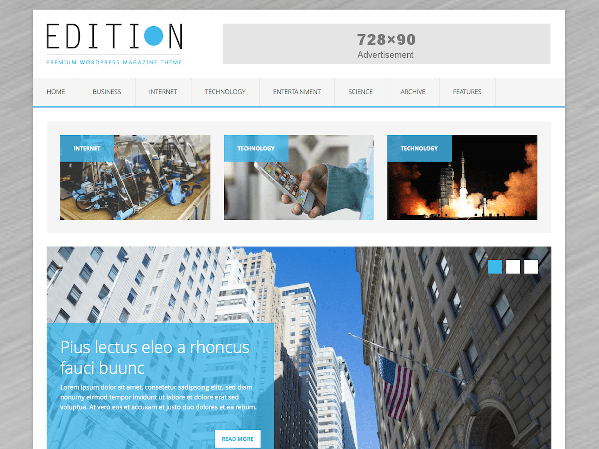 MH Edition lite free wordpress theme