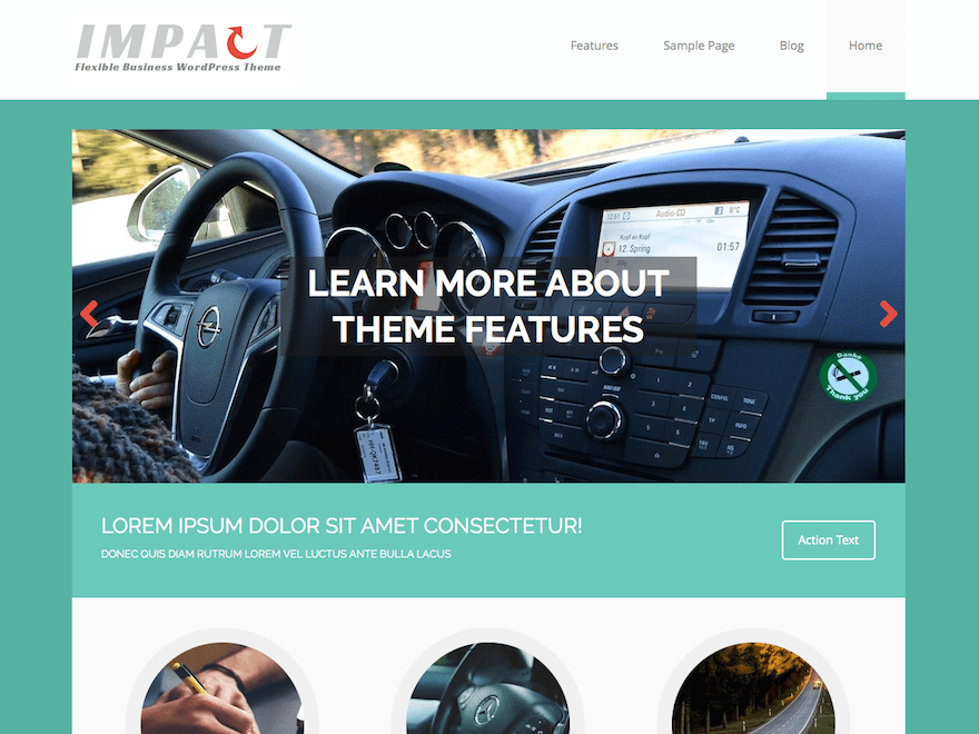 MH Impact lite free wordpress theme