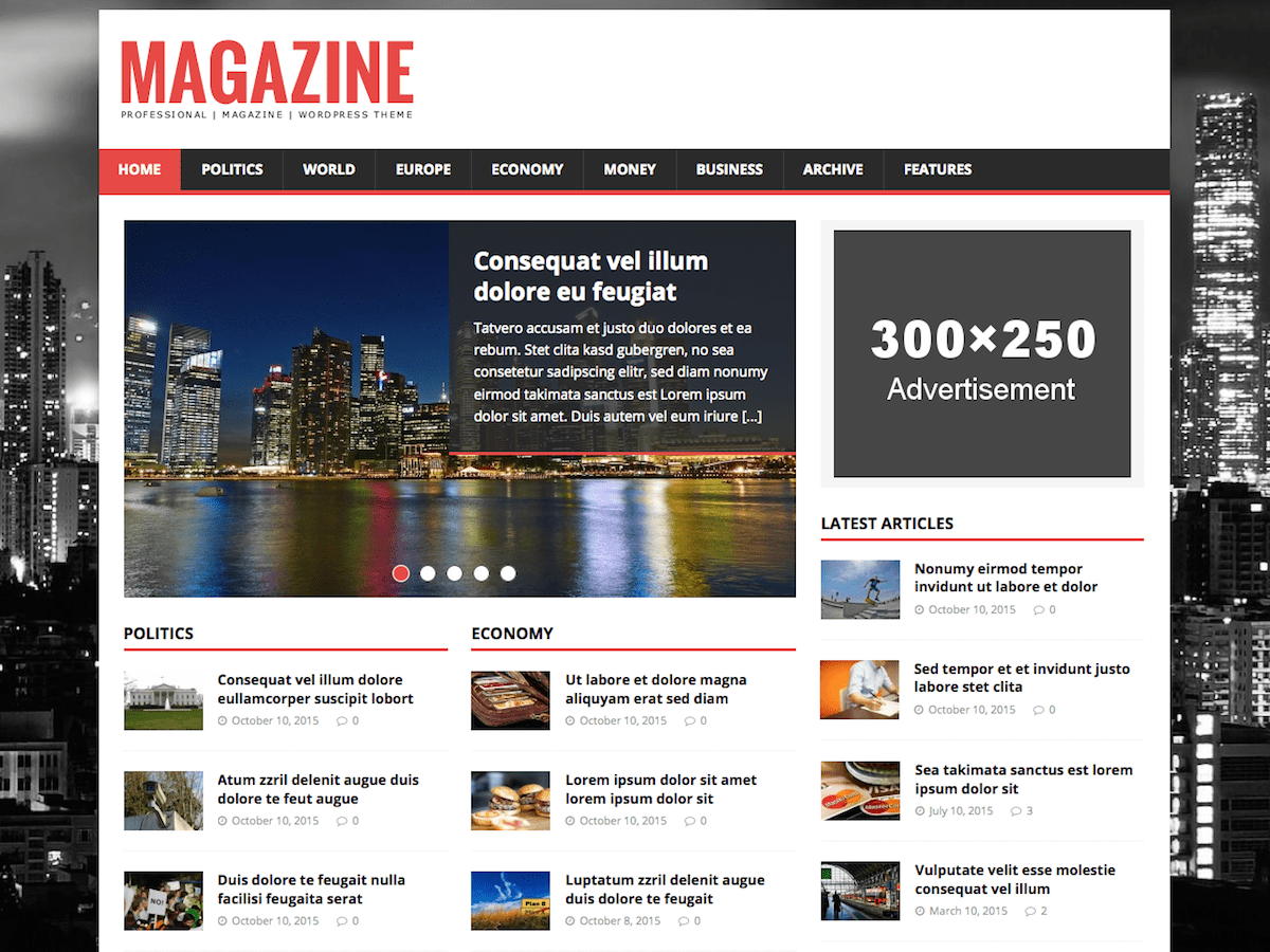 MH Magazine lite — Free WordPress Themes