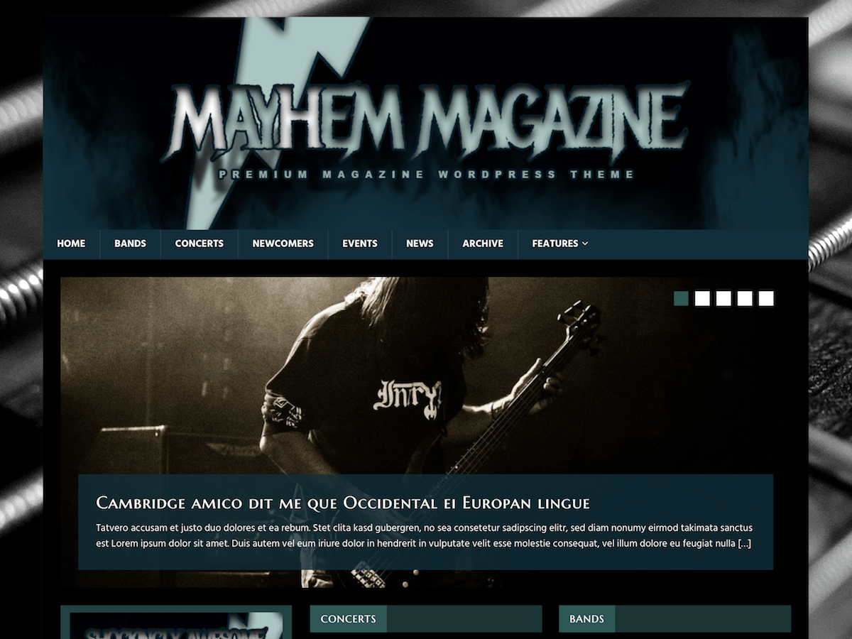 MH MusicMag - WordPress theme | WordPress.org