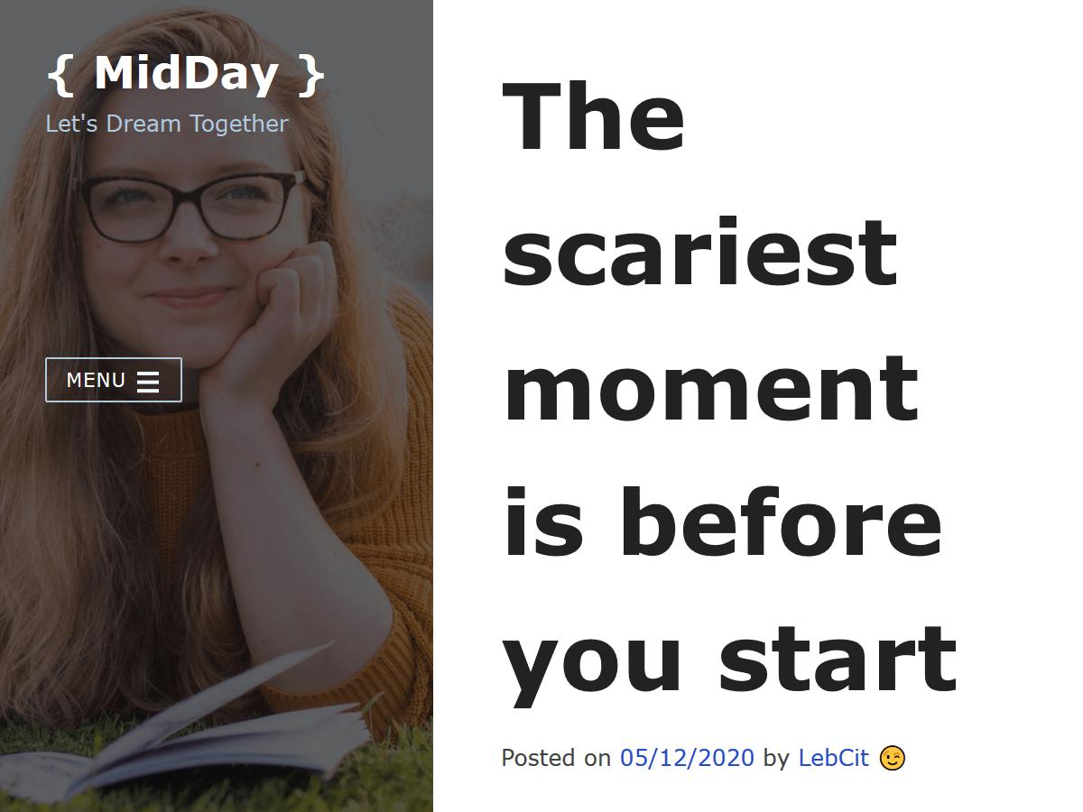 WordPress主题:MidDay