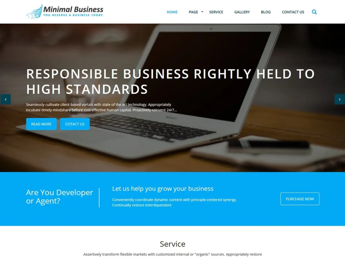 MinimalBusiness-free-best-business-WordPress-themes-CodePixelz
