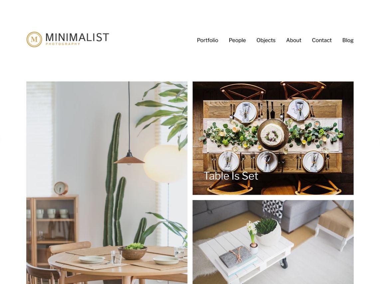 Minimalist Portfolio Theme Free Download