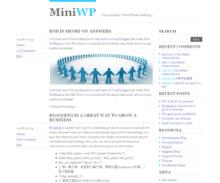 MiniWP