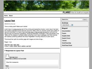 MMCrisp free wordpress theme