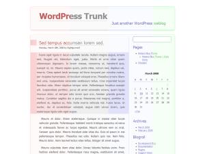 Modern-Blue free wordpress theme