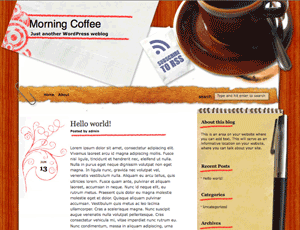 Morning Coffee wordpress theme
