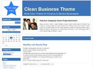 Mortgage free wordpress theme