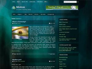 Motion wordpress theme