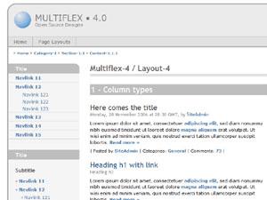 Multiflex-4 free wordpress theme