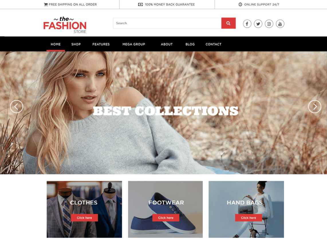 Multipurpose Ecommerce Theme Free Download
