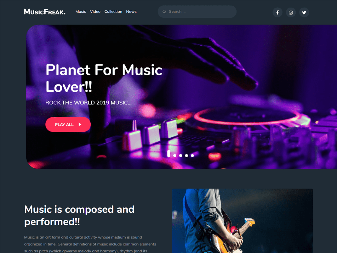 MusicFreak-free-best-music-musicians-WordPress-themes-Yudleethemes