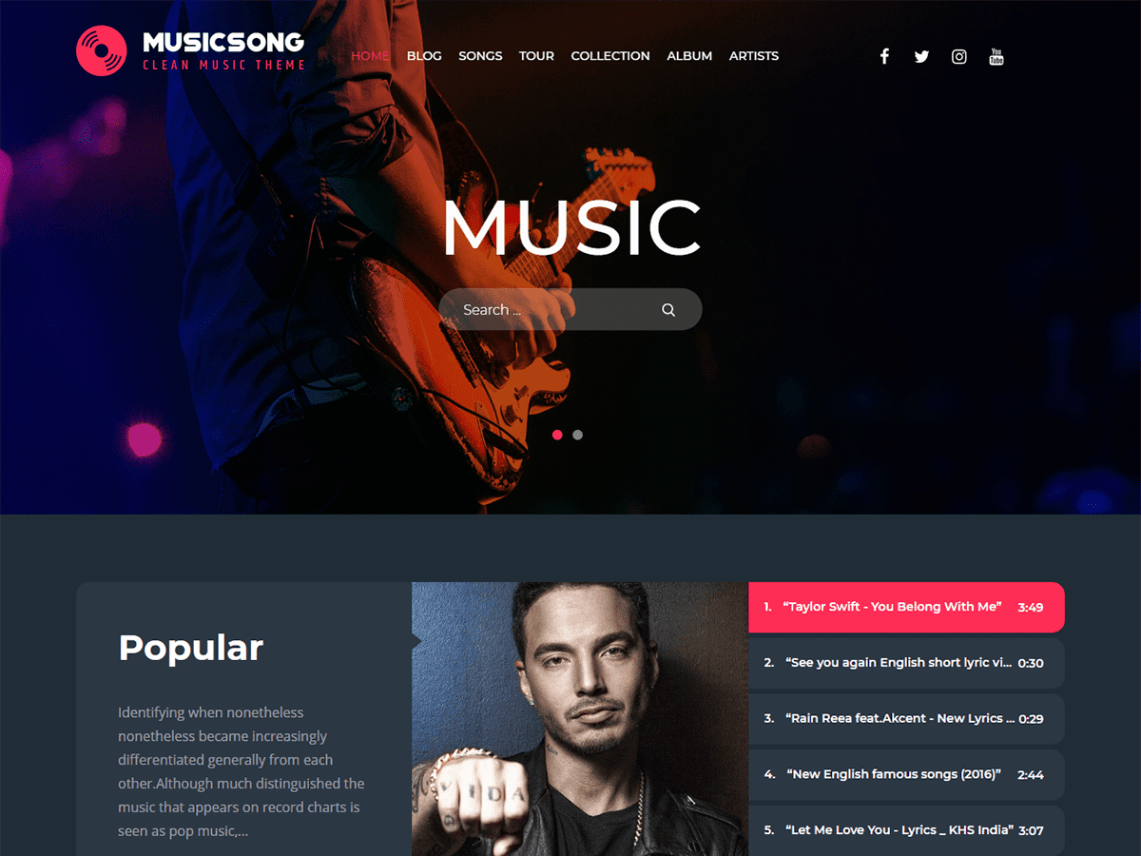 Musicsong-free-best-WordPress-theme-for-musicians-Yudleethemes