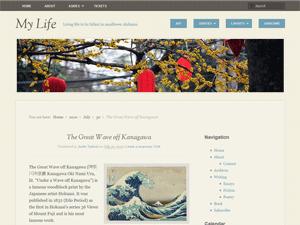 My Life wordpress theme