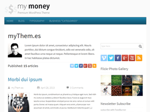 my money wordpress theme